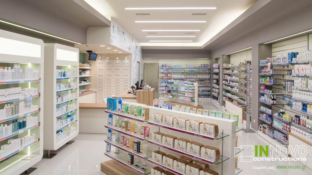 Ανακαίνιση Φαρμακείου στο Γέρακα