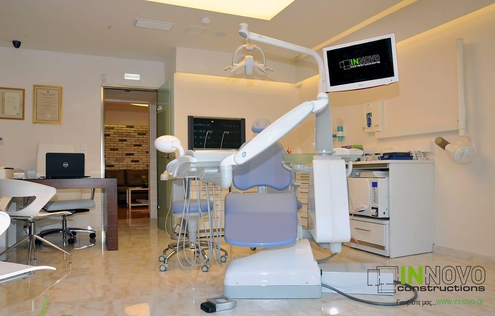 Ανακαίνιση οδοντιατρείου στο Π. Φάληρο