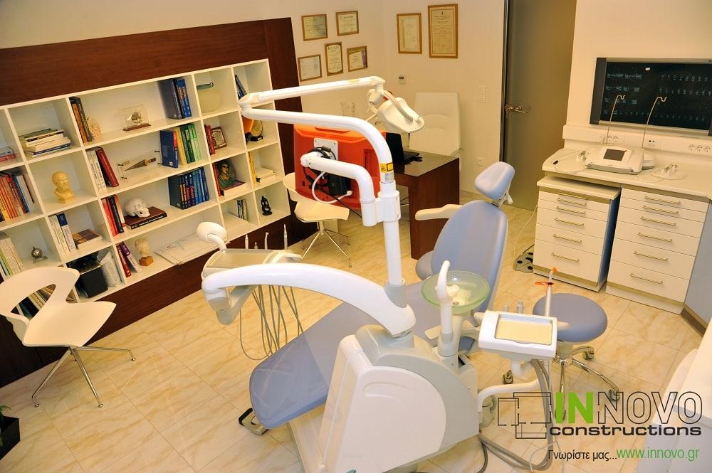 Διακόσμηση οδοντιατρείου στο Π. Φάληρο