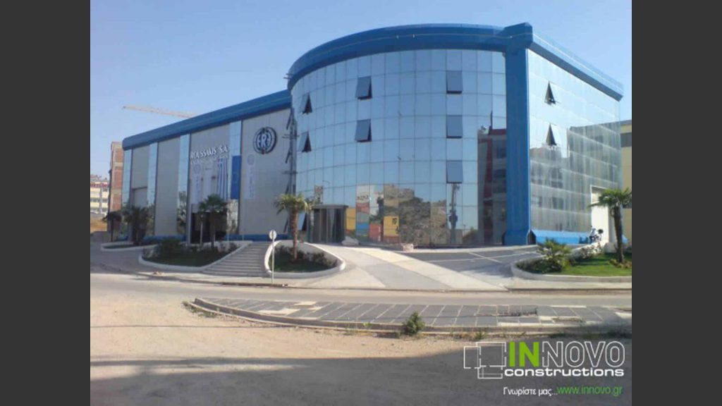 Κατασκευή γραφείων της εταιρείας «Roussakis S.A.»