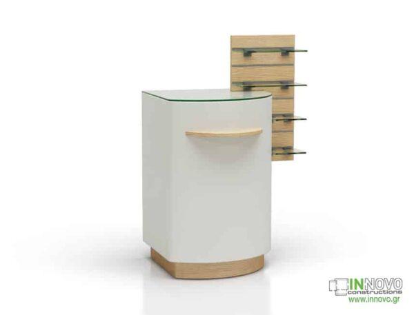 1001 Πάγκος εργασίας C-Boris light wood