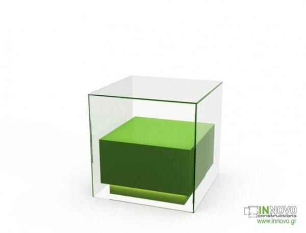 1015 Πάγκος εργασίας C-Lumi Cube A green back