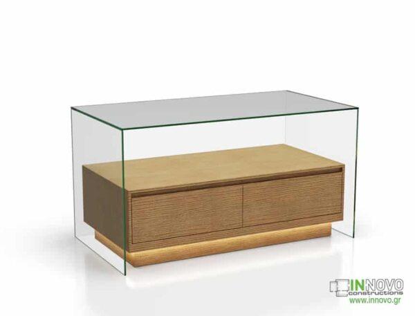 1015 Πάγκος εργασίας C-Lumi Cube B wood