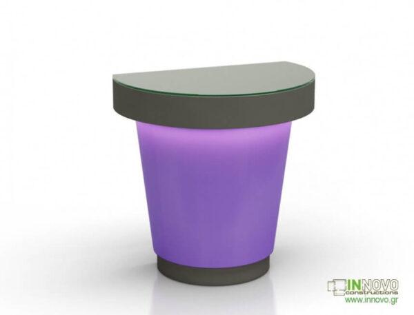 1016 Πάγκος εργασίας C-Simon purple grey