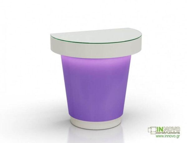 1016 Πάγκος εργασίας C-Simon purple white