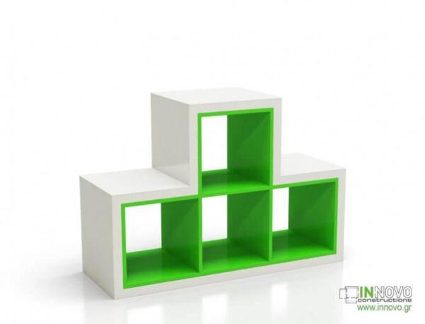 Βιτρίνα τζαμαρίας Cubes C