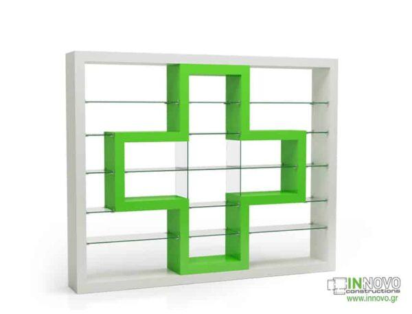 Βιτρίνες φαρμακείων D Ilektra B green