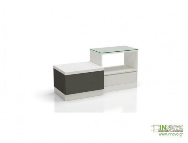 Καθιστικό φαρμακείου S Thiro single drawer