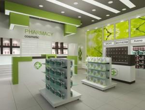 Σταντ φαρμακείου από την Innovo