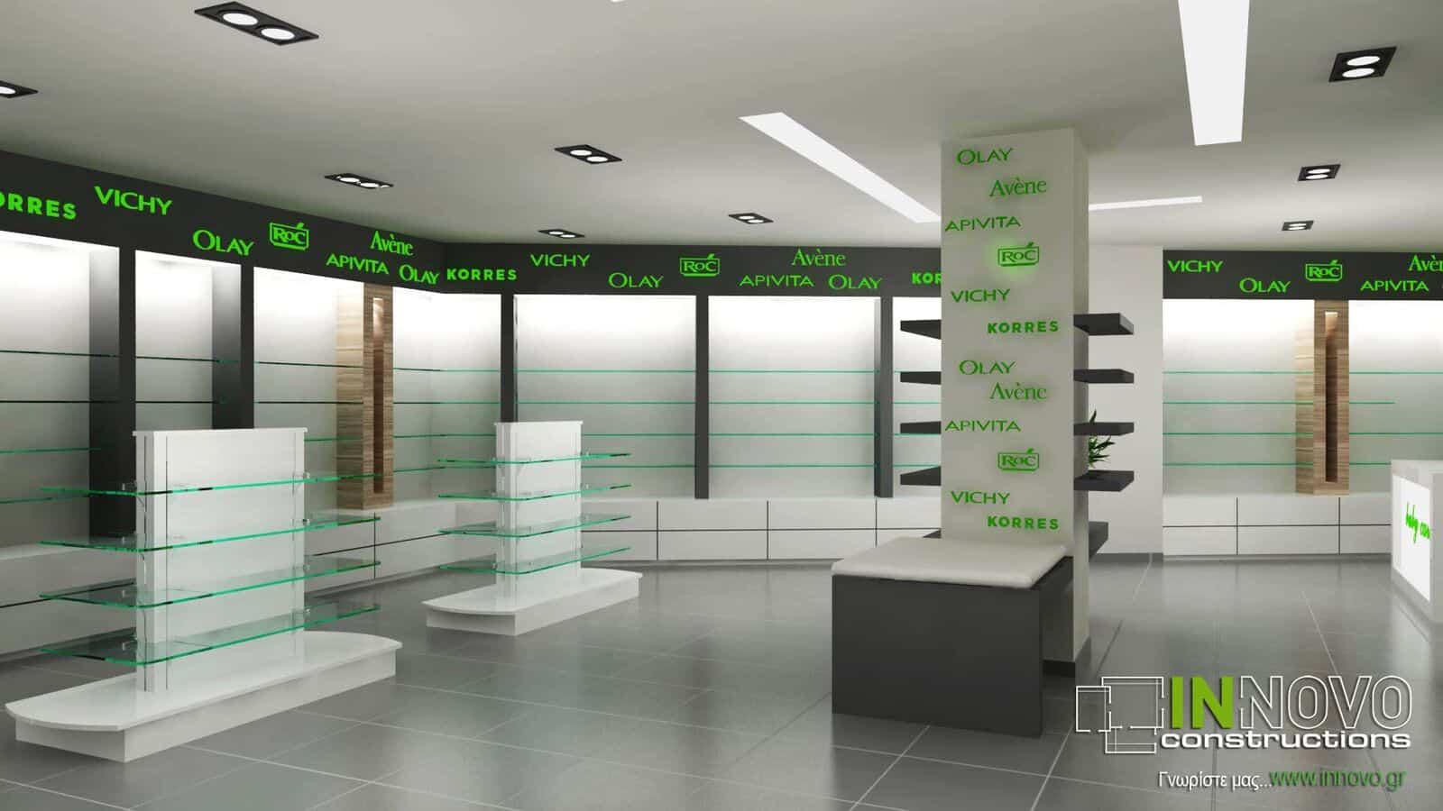 Κατασκευή Φαρμακείου στο Χαλάνδρι
