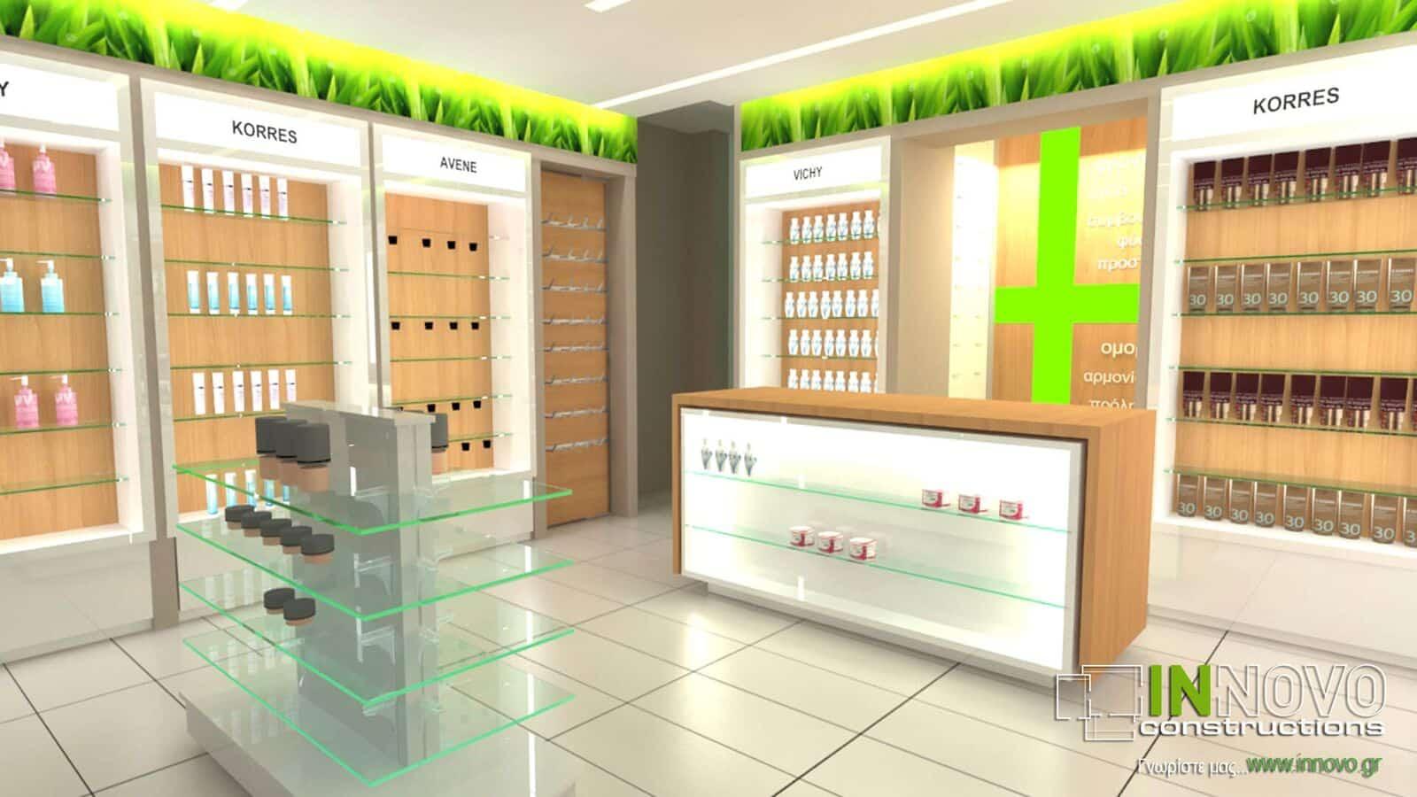 Κατασκευή Φαρμακείου στα Ιωάννινα