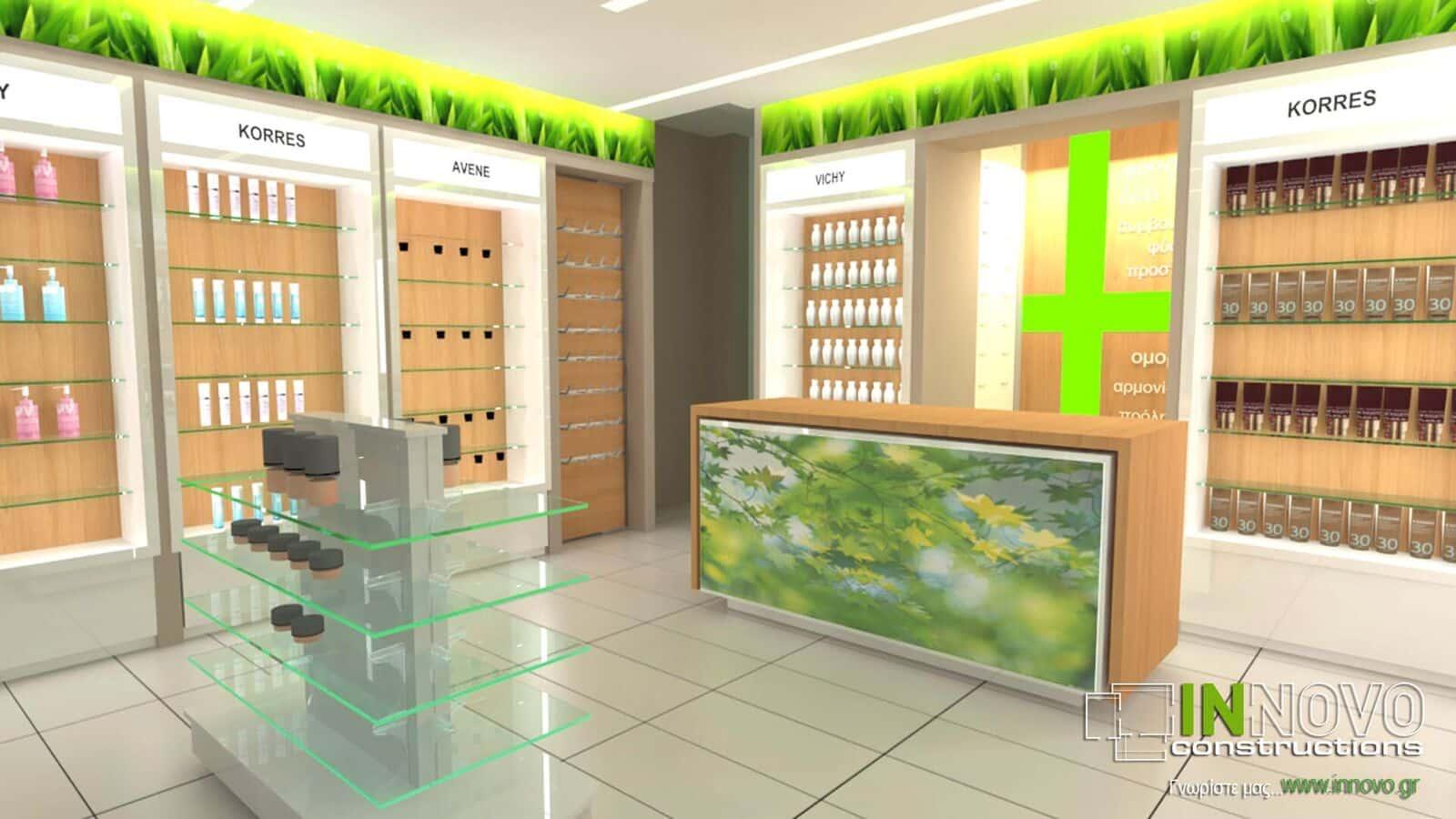 Ανακαίνιση Φαρμακείου στα Ιωάννινα