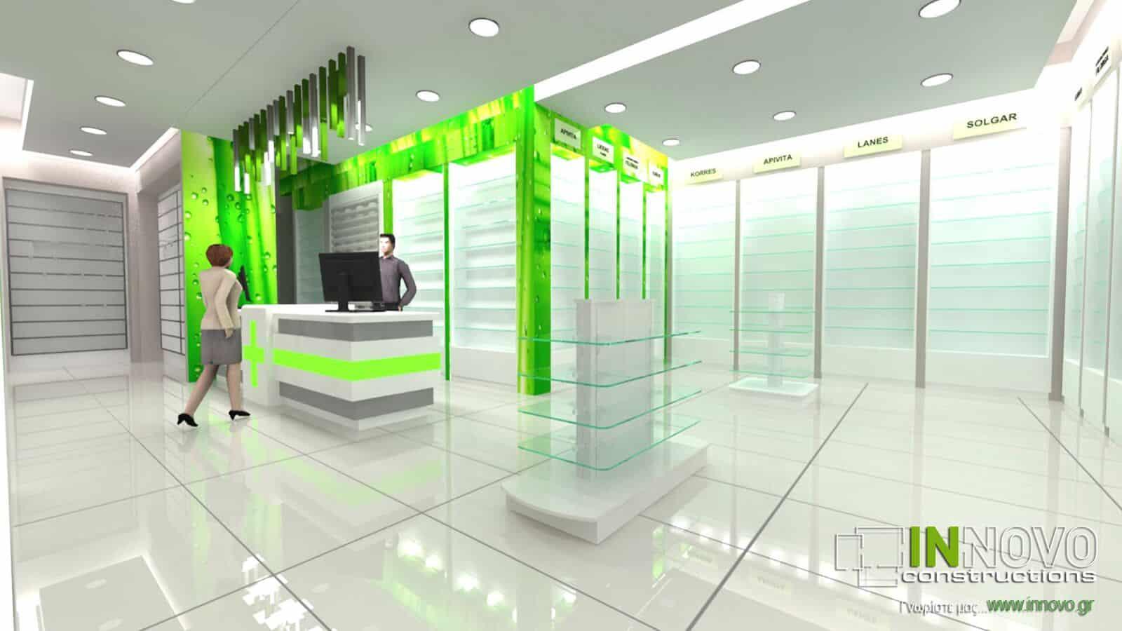 Σχεδιασμός Φαρμακείου στο Νέο Ηράκλειο